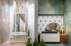 tiles in bathrooms