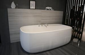 matte bathtub
